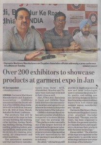 Hindustan Times Pg 3 July 18 GMMSA EXPO INDIA 2019 dates announced LDH